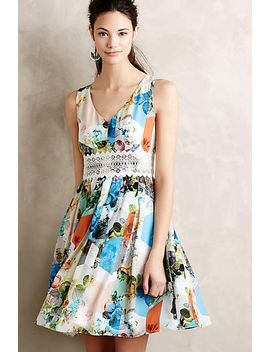 patchwork-petals-dress by anthropologie