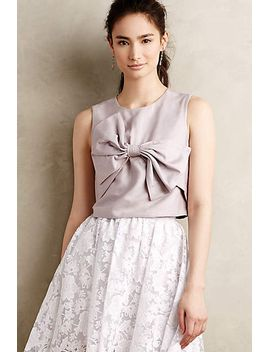 bowtied-cropped-top by rachel-antonoff
