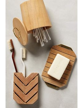 teak-bath-collection by anthropologie