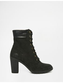 timberland-glancy-black-6-inch-heeled-boots by timberland