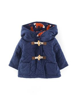 Shoptagr Cosy Quilted Duffle Jacket By Mini Boden