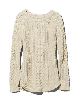 Shoptagr | Signature Cotton Fisherman Tunic Sweater by L.L.Bean
