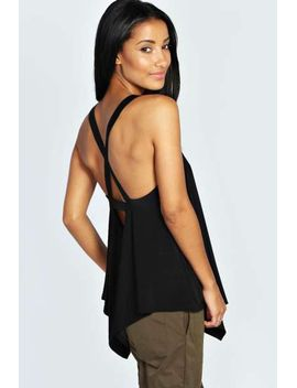 claire-strappy-cami by boohoo