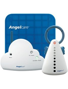 Angelcare Movement & Sound Baby Monitor   Aqua/White   Ac401 by Angelcare