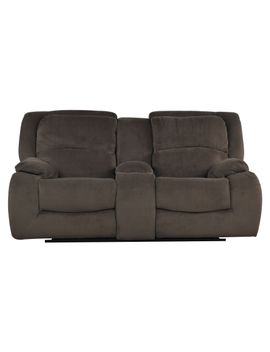 Superieur Claudius Reclining Loveseat W_console By Living Spaces