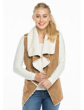 Shearling Vest by Delia's
