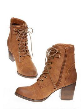 Madden Girl 'westmont' Mid Heel Combat Boot by Delia's
