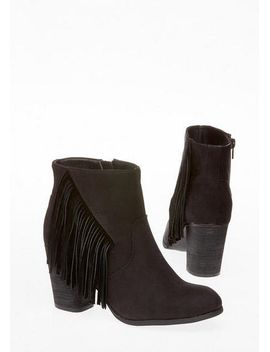 Madden Girl 'descent' Fringe Bootie by Delia's