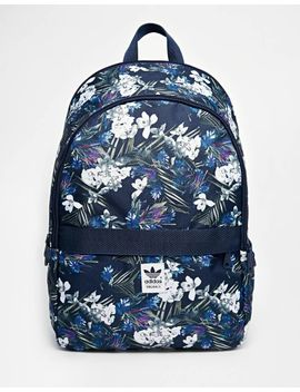 7bbba5bbcdc Shoptagr   Adidas Originals Backpack In Floral Print by Adidas