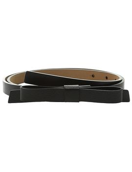 Boarskin Panel Bow Belt by Kate Spade New York