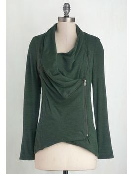 airport-greeting-cardigan-in-forest by modcloth