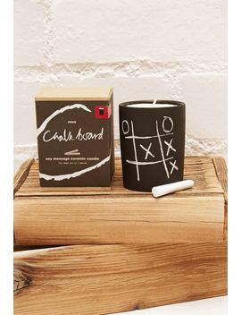 mine-design-vanilla-fig-chalkboard-candle by forever-21