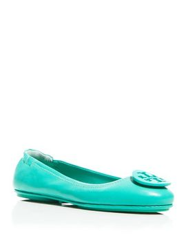 womens-minnie-travel-ballet-flats by tory-burch