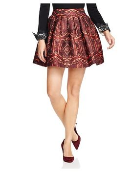 stora-box-pleat-pouf-skirt by alice-and-olivia