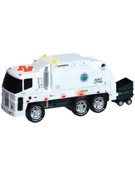 Daron Worldwide Trading Nyc Motorized Sanitation Truck by Daron Worldwide Trading