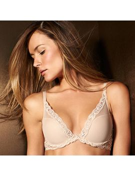 natori by feathers-contour-plunge-bra