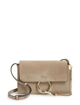 small-faye-leather-shoulder-bag by chloÉ