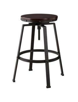 lewiston-adjustable-swivel-barstool---threshold by shop-collections