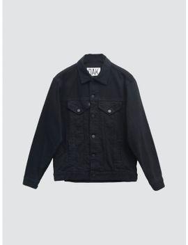Slouch Denim Jacket Black by Oak