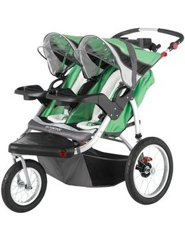 Schwinn Turismo Double Jogging Stroller   Green/Black   One Size by Schwinn Turismo<Span></Span>