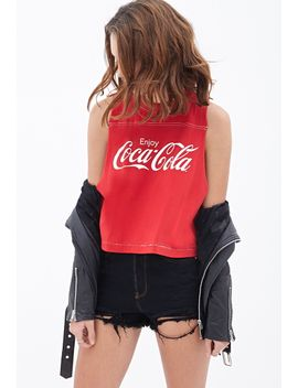 coca-cola-muscle-tee by forever-21