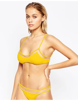 asos-mix-and-match-mesh-insert-skinny-crop-bikini-top by asos-collection