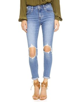721-high-rise-distressed-skinny-jeans by levis