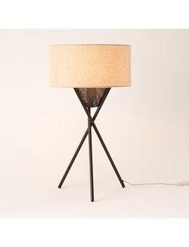 Shoptagr Mid Century Tripod Table Lamp Antique Bronze By West Elm
