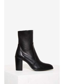 Crosswalk Pico Ankle Boot by Nasty Gal