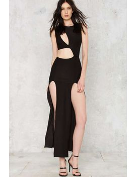 Cutout Of Excuses Maxi Dress by Nasty Gal