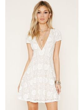 lace-babydoll-dress by forever-21