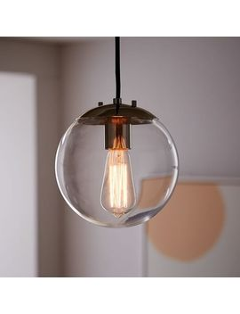 globe-pendant---clear by west-elm
