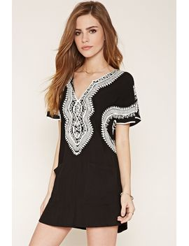 embroidered-shift-dress by forever-21