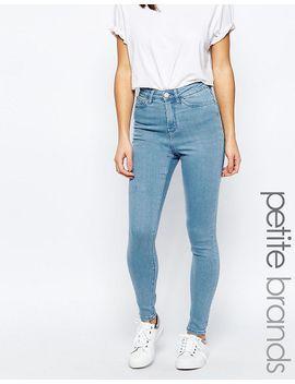waven-petite-anika-high-rise-skinny-jeans by wÅven-petite