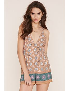 contemporary-floral-romper by forever-21