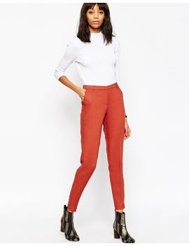 asos-premium-slim-tailored-cigarette-pants by asos-collection