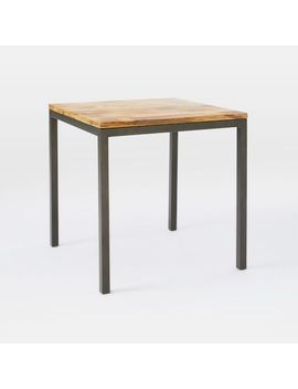 Shoptagr Box Frame Square Dining Table Wood By West Elm - West elm square dining table