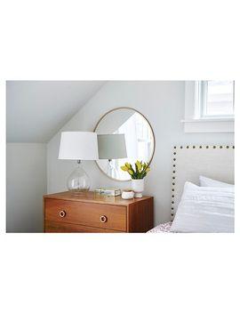 Shoptagr | Round Decorative Wall Mirror Brass Project 62™ by ...