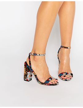asos-hue-heeled-sandals by asos-collection