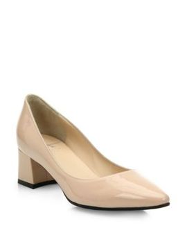 phoebe-patent-leather-block-heel-pumps by aquatalia