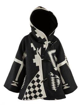 Black Los Ojos Trench Cloak by Lindsey Thornburg