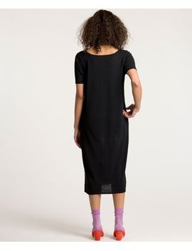 Black Tall T Dress by Lauren Manoogian