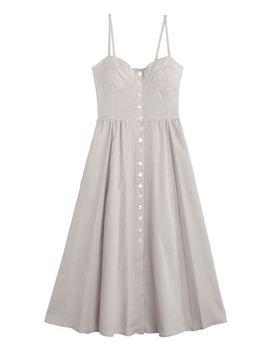 Checked Carnelia Dress by Maryam Nassir Zadeh