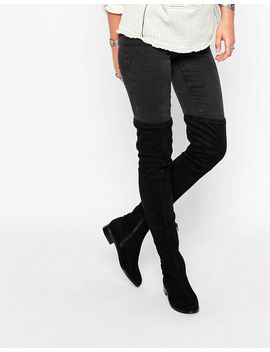 asos-keepers-flat-over-the-knee-boots by asos-collection