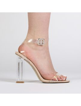 alia-strappy-clear-perspex-high-heels-in-nude by public-desire