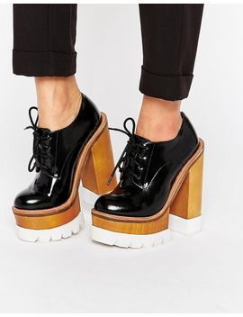 jeffrey-campbell-mega-platform-chunky-lace-up-leather-heeled-shoes by heels