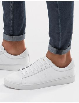 fred-perry-spencer-canvas-trainers by fred-perry