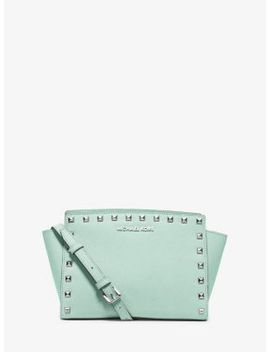selma-medium-studded-leather-messenger by michael-michael-kors