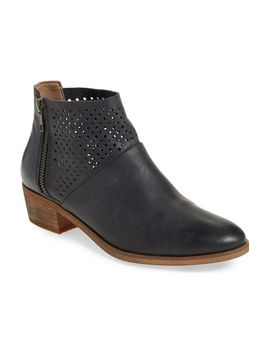 villa-perforated-bootie by hinge