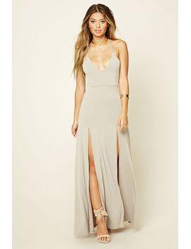 m-slit-halter-maxi-dress by forever-21